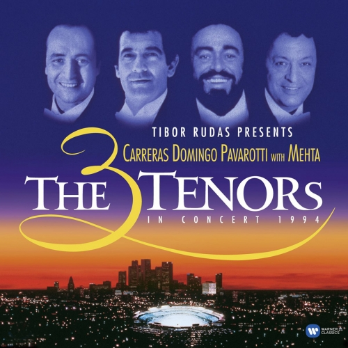 쓰리 테너 미국 월드컵 축하 공연 콘서트 - Jose Carreras / Luciano Pavarotti / Placido Domingo (The 3 Three Tenors in Concert 1994) [2 LP]