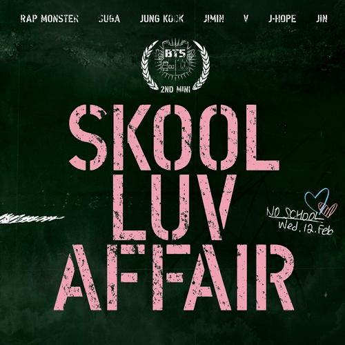 방탄소년단(BTS)  - 2nd 미니앨범 : Skool Luv Affair 상남자 Boy in Luv