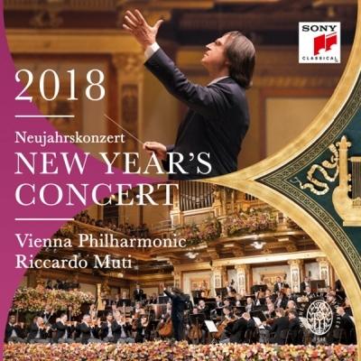 2018 빈 신년음악회 (New Year's Concert 2018) 리카르도 무티, 빈 필하모닉