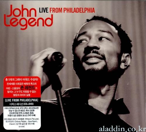 John Legend - Live From Philadelphia [CD+DVD Deluxe Edition]