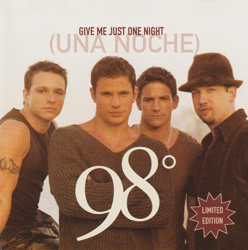 98 Degrees - Give Me Just One Night(Una Noche) (Single)