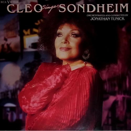 Cleo Laine •  Jonathan Tunick  – Cleo Sings Sondheim [수입]