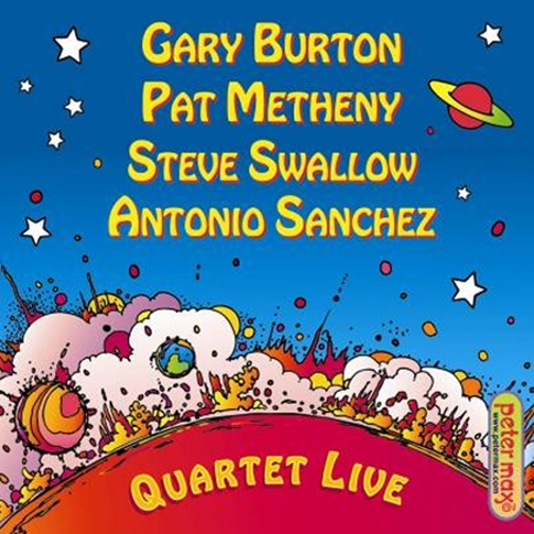 Gary Burton, Pat Metheny, Steve Swallow, Antonio Sanchez - Quartet Live