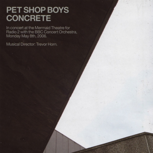 Pet Shop Boys - Concrete : In Concert At The Mermaid Theatre [2CD] [수입]