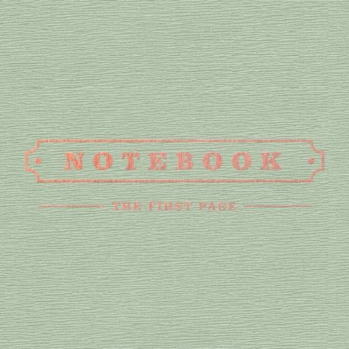 박경 (블락비) - 미니앨범 1집 : Notebook <포스터 옵션>