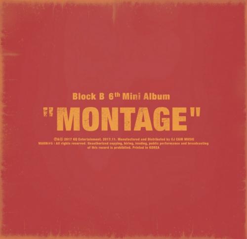 블락비 (Block B) - 미니앨범 6집 : Montage: Shall We Dance