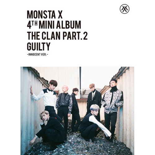 몬스타엑스 (MONSTA X) - 미니앨범 4집 : 'The Clan 2.5 Part.2 Guilty [GUILTY Ver./ INNOCENT Ver.] <포스터>