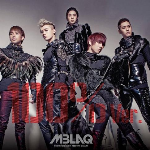 엠블랙 (MBLAQ) - 4th 미니앨범 : 100% Ver. : 전쟁이야