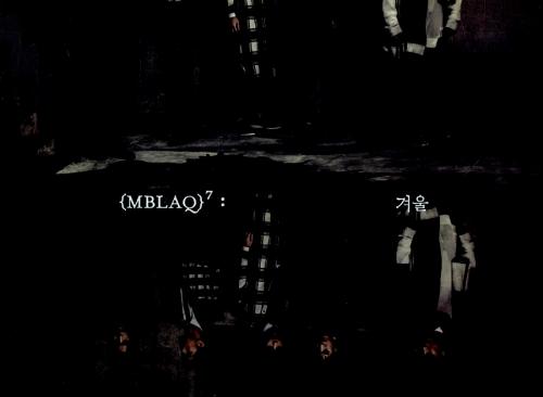 엠블랙 (MBLAQ) - 미니앨범 7집 : 겨울 <포스터>