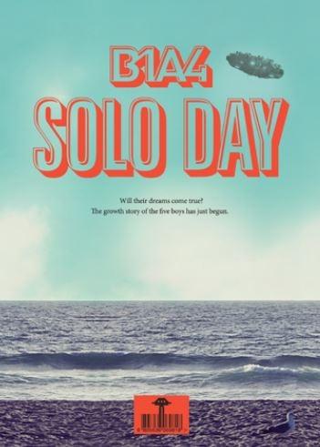 B1A4 - 미니앨범 5집 : Solo Day [A Ver. B Ver.]