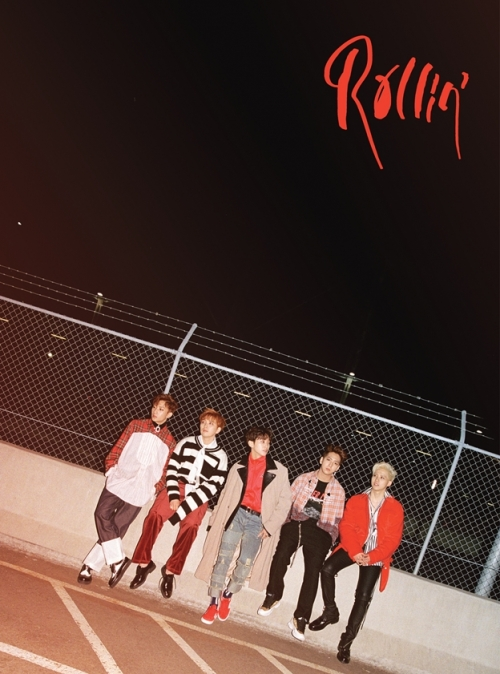 B1A4 - 미니앨범 7집 : Rollin' [Black ver.]