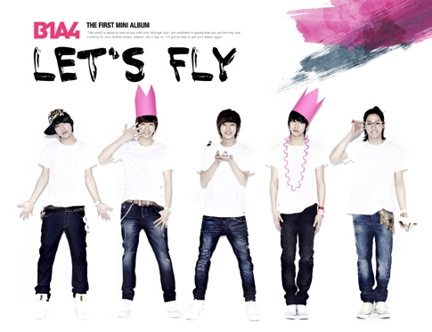 B1A4 (비원에이포) - 미니앨범 : Let's Fly