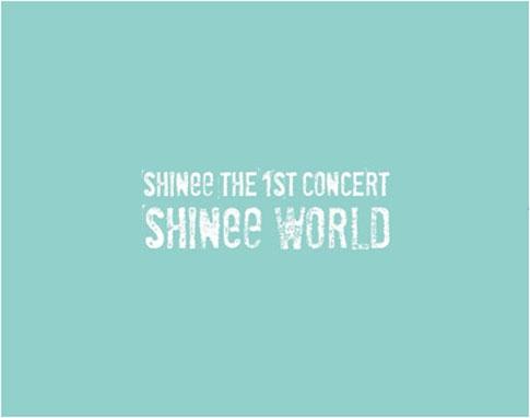 샤이니 (SHINee) - The 1st Concert Photobook 'SHINee World'