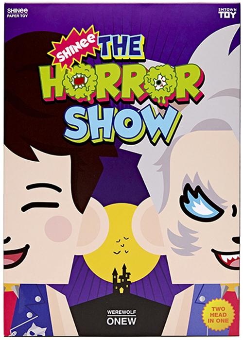 샤이니 페이퍼 토이「SHINee The Horror SHOW」[온유 Ver.] [Goods]