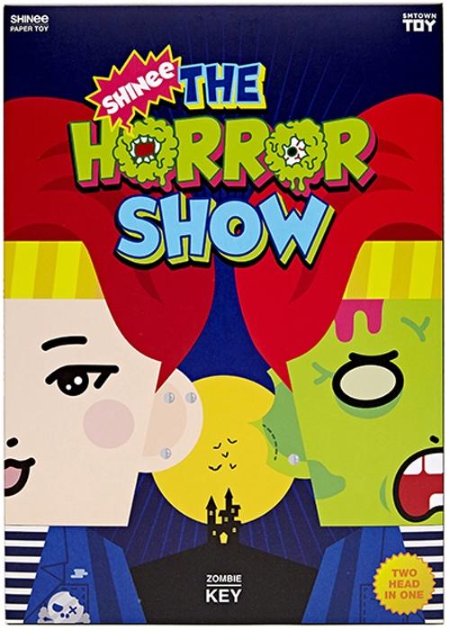 샤이니 페이퍼 토이「SHINee The Horror SHOW」[키 Ver.] [Goods]