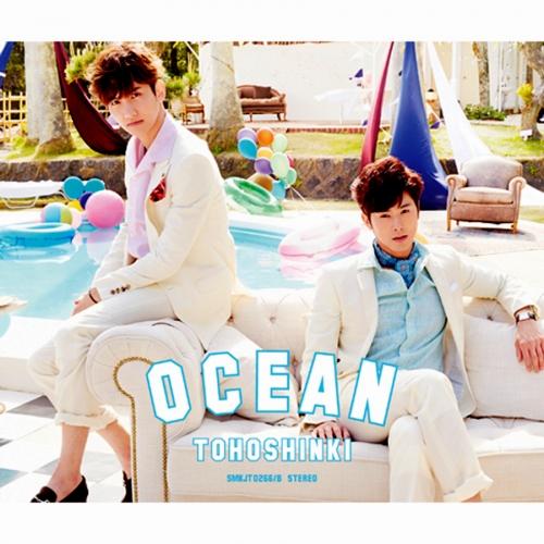 동방신기 (Tohoshinki) - 일본싱글 Ocean [CD+DVD 초회한정반]