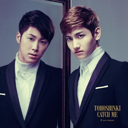 동방신기 (Tohoshinki) - 일본 싱글 Catch Me -If You Wanna- [CD+DVD 초회 한정반]
