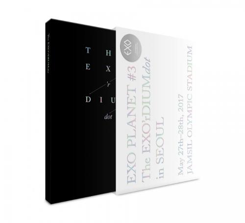 엑소 (EXO) - EXO PLANET #3 -The EXO'rDIUM[dot]- [공연화보집 & 라이브앨범(2CD)]