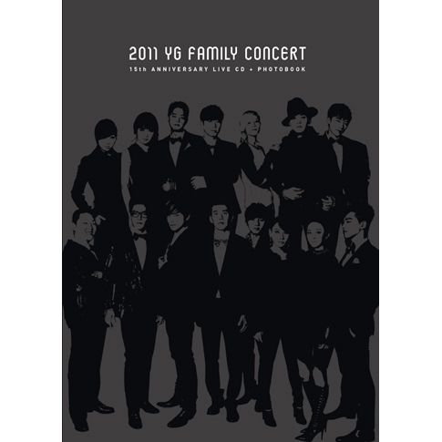 2011 YG Family Concert Live : 15th Anniversary [2CD + Photo Book]