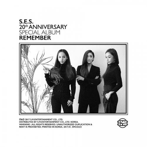 S.E.S (에스 이 에스) - 20주년 기념 스페셜 앨범 Remember <포스터>