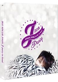 2015 김재중 J파티 인 서울 : 한정판 (3disc+포토북) [DVD]