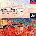 Albeniz: Iberia, Granados: Goyescas, Alicia de Larrocha (알베니즈 : 이베리아 & 그라나도스 : 고예스카스, 라로차) [수입]
