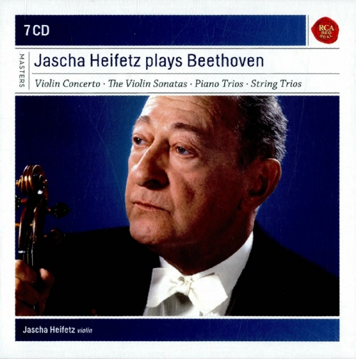 Beethoven - Jascha Heifetz plays Beethoven (Violin Concerto, The Violin Sonatas, Piano Trios, String Trios) (베토벤 : 바이올린 소나타와 협주곡집) [7CD] [수입]