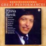 Bartok - Great Performances, Murry Perahia (바르톡 : 피아노 작품집) [수입]
