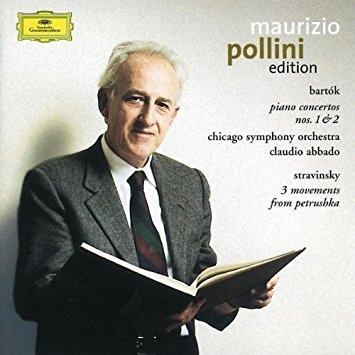 Bartok : Piano Concertos Nos. 1&2 , Stravinsky : 3 Movements from Petrushka, Maurizio Pollini, Claudio Abbado  [수입]