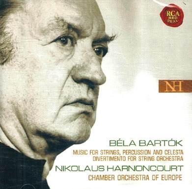 Bartok - Music for Strings, Percussion and Celesta, Nikolaus Harnoncourt (바르톡 : 첼레스타, 타악기, 현을 위한 협주곡 & 디베르티멘토) [수입]