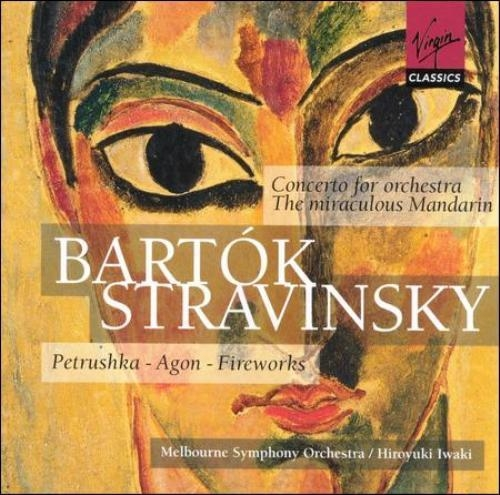 Bartok - Concerto for Orchestra, The miraculous Mandarin & Starvinsky - Petrushka, Agon, Fireworks [수입]
