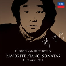 Beethoven - Favorite Piano Sonatas, Kun-woo Paik (백건우 - 베토벤 유명 피아노 소나타집 [2 for 1] - 비창 / 월광 / 템페스트 / 고별 / 전원 / 발트슈타인 / 열정)