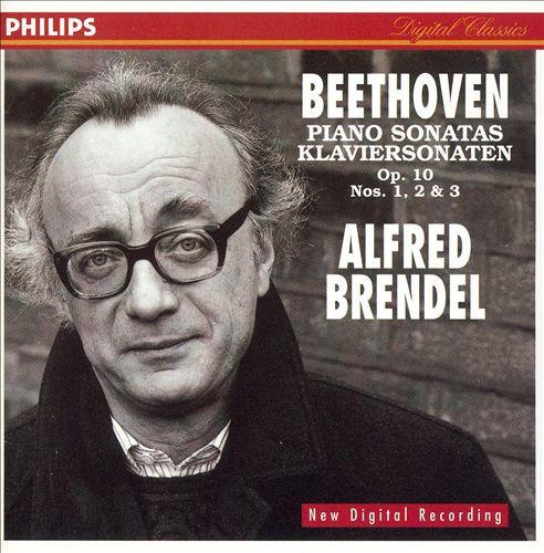 Alfred Brendel - Beethoven Piano Sonatas Op.10 Nos.1, 2 & 3