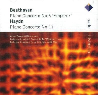 Arturo Benedetti Michelangeli -  Beethoven / Haydn Piano Concertos (미켈란젤리 - 베토벤 : 피아노 협주곡 5번 '황제' & 하이든 : 피아노 협주곡 11번) [수입]