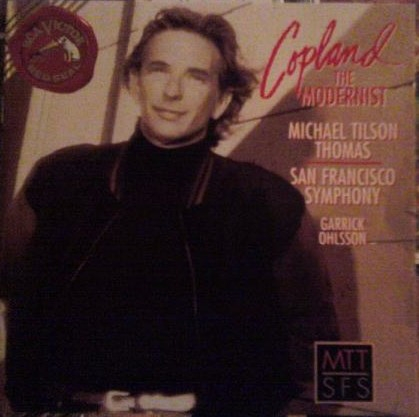 Copland The Modernist -  Michael Tilson Thomas,  San Francisco Symphony, Garrick Ohlsson [수입]