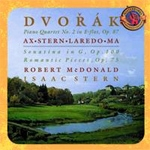 Dvorak - Piano Quartet No. 2, Op. 87, Romatic Pieces Op. 75, Sonatina in G, Op. 100 / Emanuel Ax, Isaac Stern, Jaime Laredo, Yo-Yo Ma (드보르작 - 피아노4중주, 바이올린 소나타 / 요요마)
