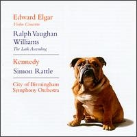 Elgar - Violin Concertro, Ralph Vaughan Williams - The Lark Ascending / Kennedy, City of Birmingham Symphony Orchestra, Sir Simon Rattle