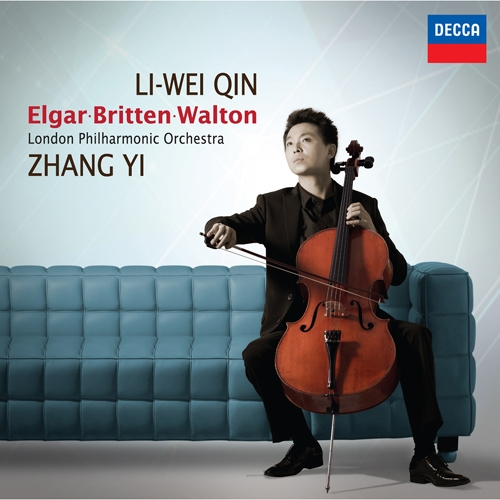 Elgar - Cello Concerto in E minor, op.85 / Britten - Four Sea Interludes from the Opera Peter Grimes, op.33a / Walton - Concerto for Violoncello and Orchestra : Li-Wei Qin  (엘가 : 첼로 협주곡 Op.85 / 브리튼 : 네 개의 바다 간주곡 / 월튼 : 첼로와 오케스트라를 위한 협주곡)