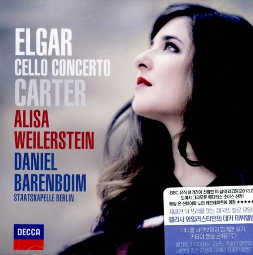 Elgar & Elliott Carter - Cello Concerto / Alisa Weilerstein (와일러스타인 - 엘가 & 카터 : 첼로 협주곡)