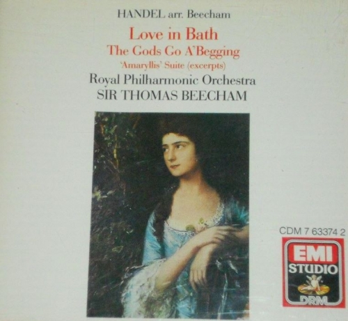 Handel - Love in Bath / The God's Go A'Begging / Amaryllis Suite (excerpts) [수입]
