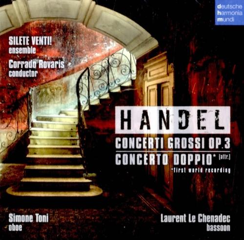 Handel - Concerti Grossi Op.3, Concerto Doppio (헨델 - 합주 협주곡 작품 3, 오보에와 바순 협주곡) [수입]