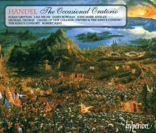 Handel - Occasional Oratorio / The King's Consort, Robert King [수입]