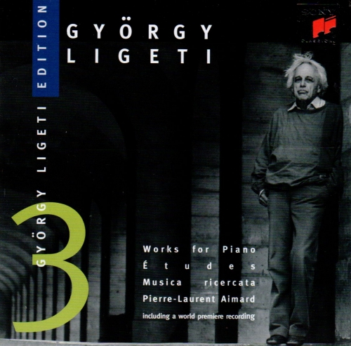 Gyorgy Ligeti (리게티) - Works for Piano Etudes, Musica ricercata / Pierre-Laurent Aimard [수입]