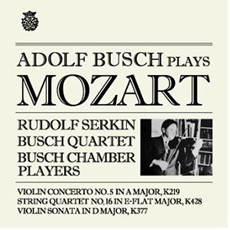 ADOLF BUSCH PLAYS MOZART / Adolf Busch, Rudolf Serkin (아돌프 부쉬가 연주하는 모차르트)