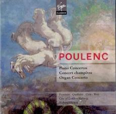 Francis Poulenc - Piano Concertos / Richard Hickox, Jean-Bernard Pommier, Anne Queffelec (프란시스 풀랑 - 피아노 협주곡, 콘체르트 쳄페트레, 오르간 협주곡) [2CD] [수입]