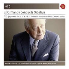 Eugene Ormandy conducts Sibelius - Symphonies Nos. 1, 2, 4, 5, & 7, Finlandia, Valse triste, Violin Concerto (유진 오먼디가 지휘하는 시벨리우스) [8CD] [수입]