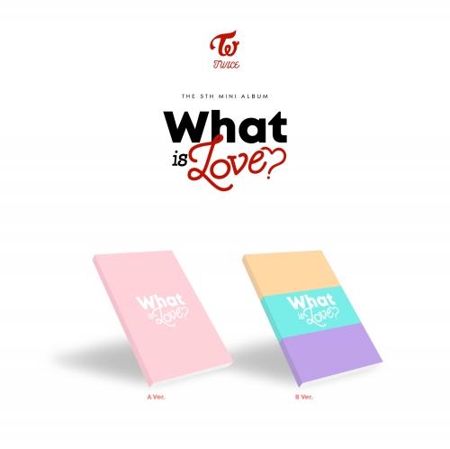 트와이스(TWICE) - 미니5집 TWICE THE 5TH MINI ALBUM - What is Love? 왓 이즈 러브 <초회한정 포스터, 포토카드(A,B 중 랜덤) 증정>