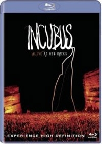 Incubus: Alive At Red Rocks (인큐버스 : 얼라이브 앳 레드 락스) [블루레이+CD]
