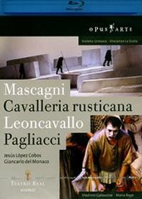 Mascagni: Cavalleria rusticana/Pagliacci: Leoncavallo (카발레리아 루스티카나 : 팔리아치) [블루레이]