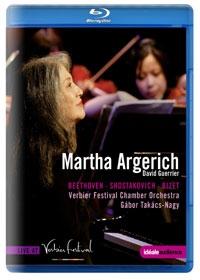 MARTHA ARGERICH : VERBIER FESTIVAL 2009-2010 (마르타 아르헤리치 : 베르비에 페스티벌 2009 - 2010) [블루레이] [수입]